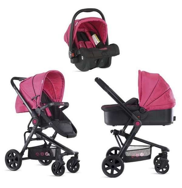 Pink Baby Strollers Travel Systems